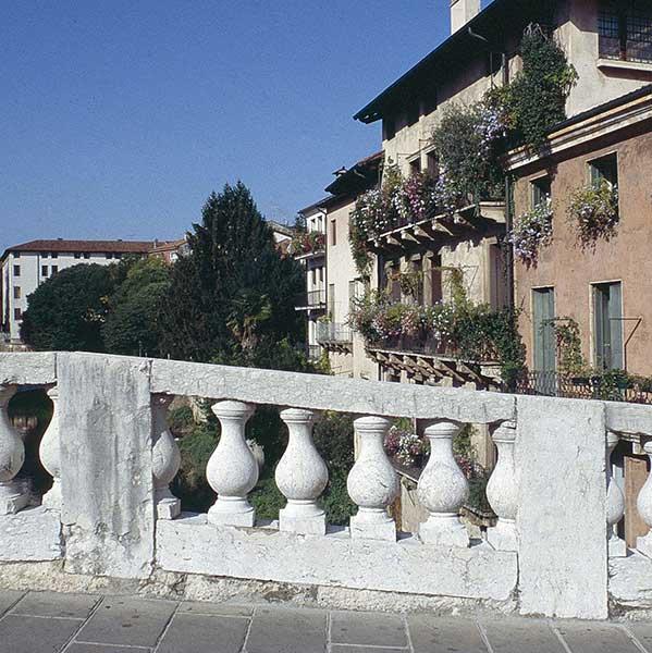 Marble Columns in Piazza dei Signori, Vicenza